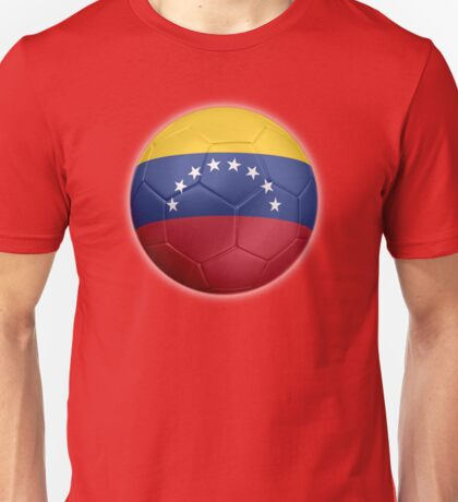Venezuela - Venezuelan Flag - Football or Soccer 2 Unisex T-Shirt