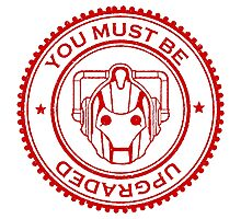 Cybermen Rubber Stamp Photographic Print