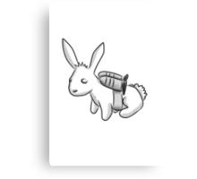 Rocket Bunny Canvas Print