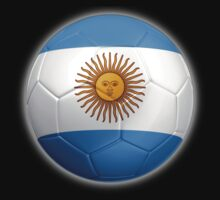 Argentina - Argentine Flag - Football or Soccer 2 Kids Clothes