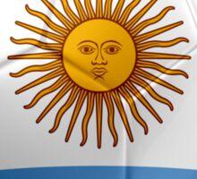 Argentina - Argentine Flag - Football or Soccer 2 Sticker