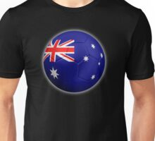 Australia - Australian Flag - Football or Soccer 2 Unisex T-Shirt