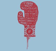 Boxing Glove Typography - Tyson is Back! Kids Clothes