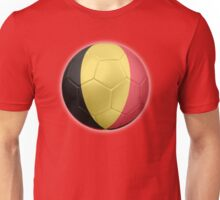 Belgium - Belgian Flag - Football or Soccer 2 Unisex T-Shirt