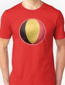 Belgium - Belgian Flag - Football or Soccer 2 T-Shirt