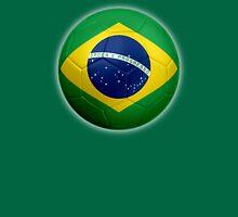 Brazil - Brazilian Flag - Football or Soccer 2 Unisex T-Shirt