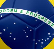 Brazil - Brazilian Flag - Football or Soccer 2 Sticker