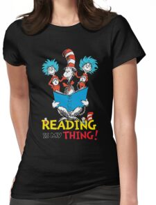 Reading Day Womens Fitted T-Shirt