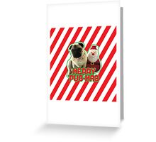 Merry Pug-mas Greeting Card