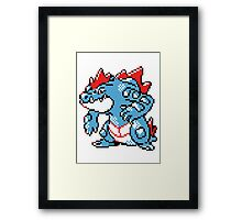 Pokemon - Feraligatr Framed Print