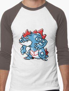 Pokemon - Feraligatr Men's Baseball ¾ T-Shirt
