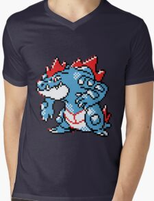 Pokemon - Feraligatr Mens V-Neck T-Shirt