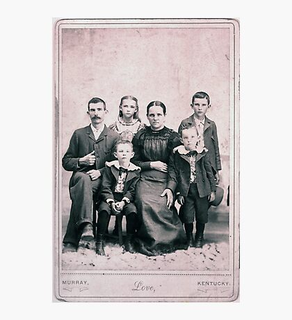JOSEPH WINDSOR FAMILY, CALLOWAY COUNTY, KENTUCKY Photographic Print