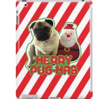 Merry Pug-mas iPad Case/Skin