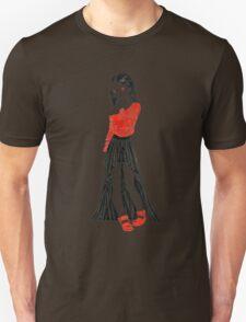 Girl in Dress Unisex T-Shirt
