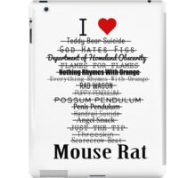 Parks and Recreation - I <3 Mouse Rat iPad Case/Skin