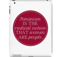 Radical Notion iPad Case/Skin