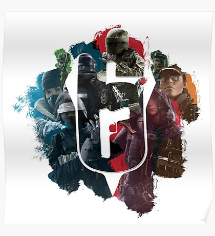 Rainbow Six Siege: Choose your Operator Poster