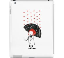 Love rain iPad Case/Skin