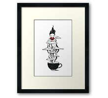 Zen tea Framed Print