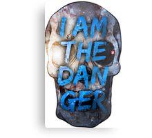 I AM THE DANGER Metal Print