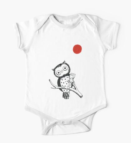 Owl One Piece - Short Sleeve