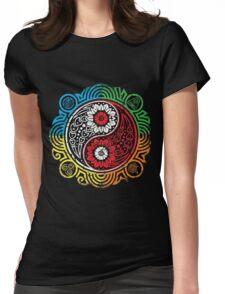 Avatar Balance - Legend of Korra Womens Fitted T-Shirt