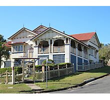 Iconic 'Queenslander' from yesteryear, Gympie. Queensland.  Photographic Print