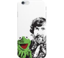 Jim Henson and Kermit - Master Puppeteer and Creative Genius iPhone Case/Skin