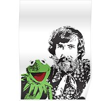 Jim Henson and Kermit - Master Puppeteer and Creative Genius Poster