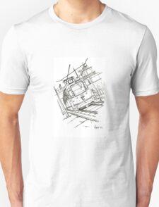 Budapest tram Unisex T-Shirt