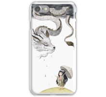 Rain dragon iPhone Case/Skin