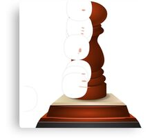 Glitch Trophies trophy spice Canvas Print