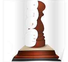 Glitch Trophies trophy spice Poster