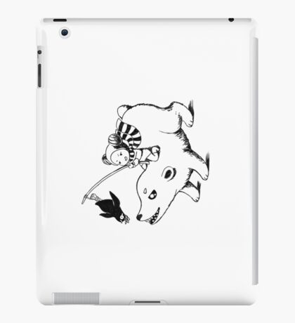 Carrot on a stick iPad Case/Skin