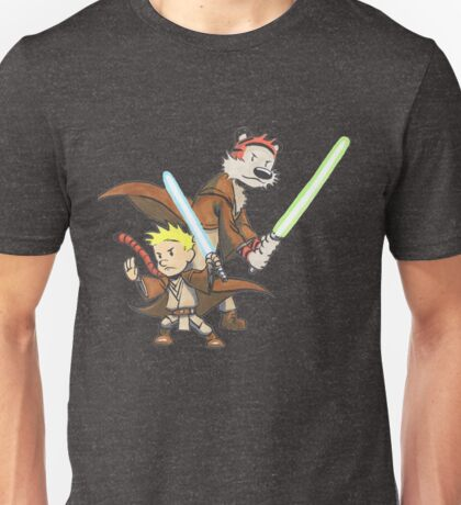 Calvin and Hobbes Star Wars Pals Unisex T-Shirt