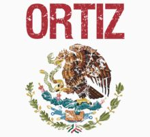 Ortiz Surname Mexican Kids Clothes
