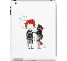 Boy and a fox iPad Case/Skin