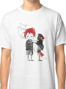 Boy and a fox Classic T-Shirt