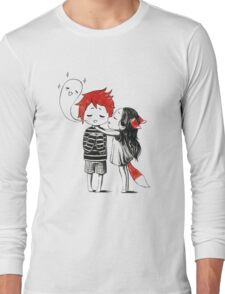 Boy and a fox Long Sleeve T-Shirt