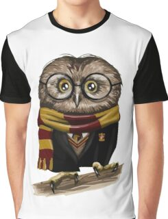 Owly Potter Graphic T-Shirt