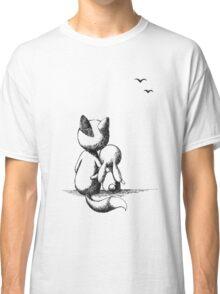 Fox and a rabbit Classic T-Shirt
