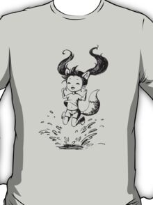 Girl in the puddle T-Shirt