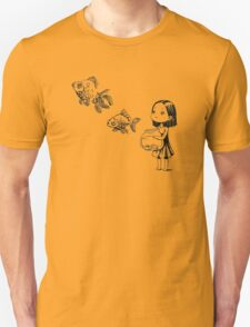 Girl and the fish Unisex T-Shirt