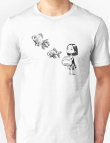 Girl and the fish T-Shirt