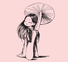 Girl under the mushroom Baby Tee