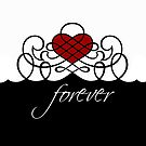 Forever in Love Print by red addiction
