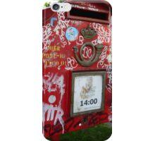 Mailbox Tag iPhone Case/Skin