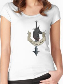 Death in Honor Women's Fitted Scoop T-Shirt