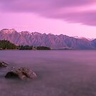 Queenstown Sunset by 4thdayimages